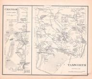 Chatham, Tamworth, New Hampshire State Atlas 1892 Uncolored